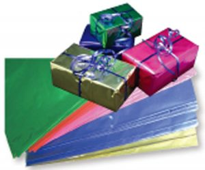 CELLOPHANE – METALLIC – ASSORTED COLOURS – 50CM X 75CM (25pk)