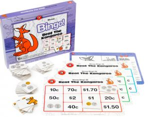 BEAT THE KANGAROO – AUSSIE DOLLAR BINGO (EDUCATIONAL GAME)