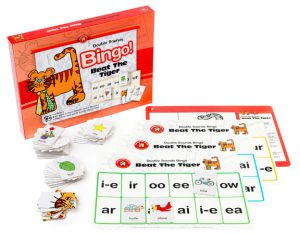 BEAT THE TIGER – DOUBLE SOUNDS BINGO (Educational Game)