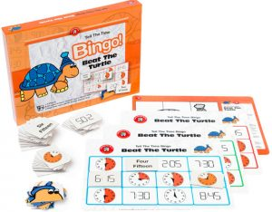 BEAT THE TURTLE – TELL THE TIME BINGO (EDUCATIONAL GAME)