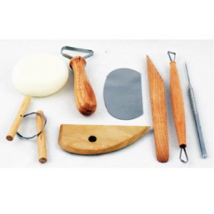 Clay Modelling Tools / Cutters / Pottery Kits / Dough Tools